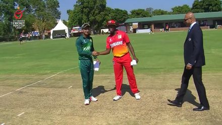 ICC U19 CWC: PAK v ZIM – Zimbabwe opt to bowl first
