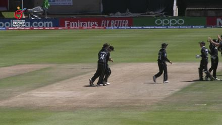 ICC U19 CWC: NZ v SL –Wheeler-Greenall takes a screamer at short cover