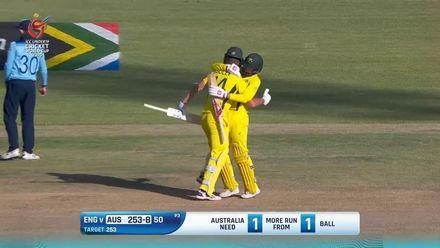 ICC U19 CWC: AUS v ENG – Highlights of Australia's thrilling win