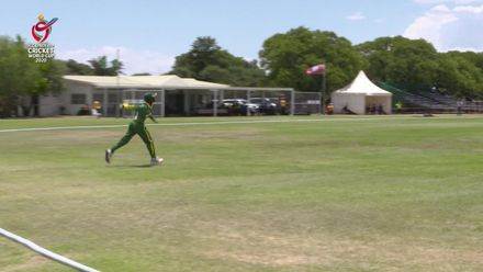 ICC U19 CWC: WI v NGR – Sharp catch at boundary sends back Young