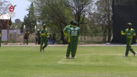 ICC U19 CWC: WI v NGR – Aho gets his second wicket