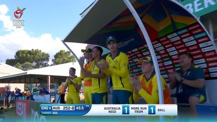 ICC U19 CWC: AUS v ENG – Highlights of Australia's chase