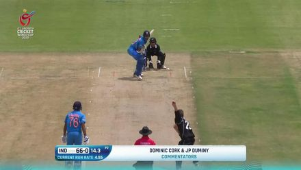 ICC U19 CWC: IND v NZ – Highlights of Jaiswal's 57*