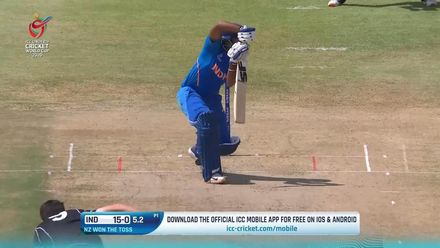 ICC U19 CWC: IND v NZ – Highlights of Saxena's 52