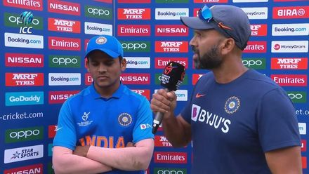 ICC U19 CWC: IND v NZ – Post-match presentation ceremony