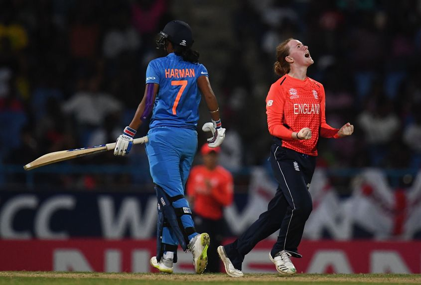 India lost to England in the semi-final of the 2018 T20 World Cup
