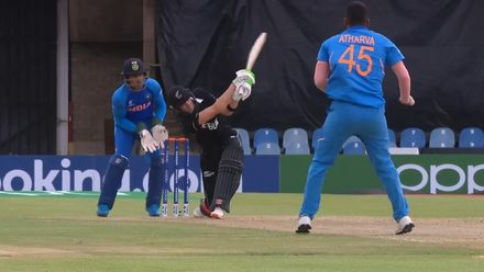 ICC U19 CWC: IND v NZ – Lellman launches it ... again!