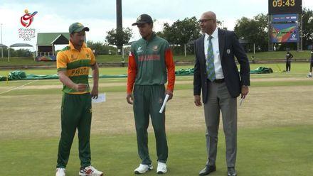 ICC U19 CWC: PAK v BAN – Pakistan opt to bowl
