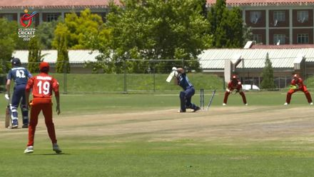 ICC U19 CWC: ZIM v SCO – Ndlela flattens Guy's stumps in the first over