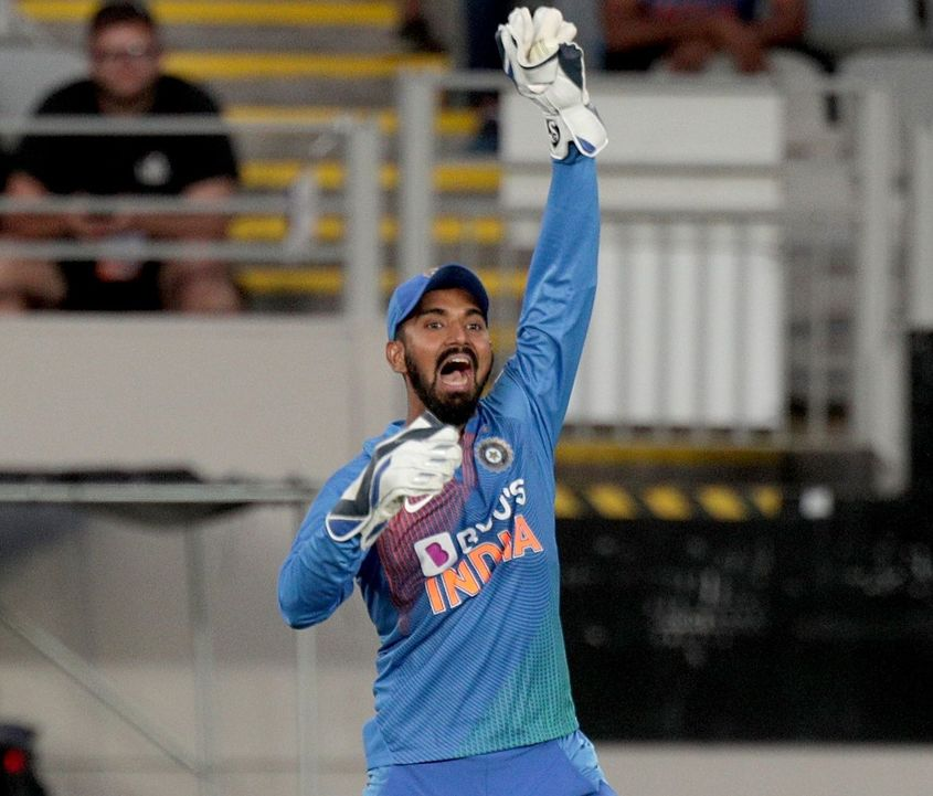 Rahul has now donned a full-time wicket-keeper's role