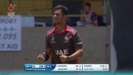 ICC U19 CWC: SA v UAE – Highlights of Sanchit Sharma's 3/57