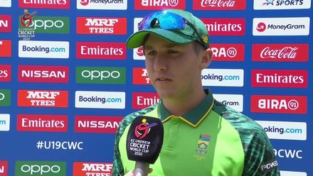 ICC U19 CWC: SA v UAE – Beaufort on South Africa's tall total