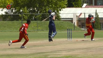 ICC U19 CWC: ZIM v SCO – Nyangani claims two as Scotland's tail crumbles