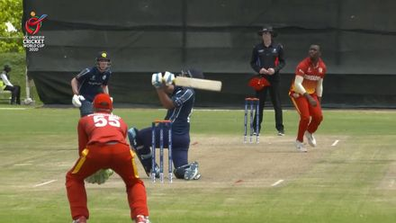 ICC U19 CWC: ZIM v SCO – Sajjad last wicket to fall as Scotland fold for 140