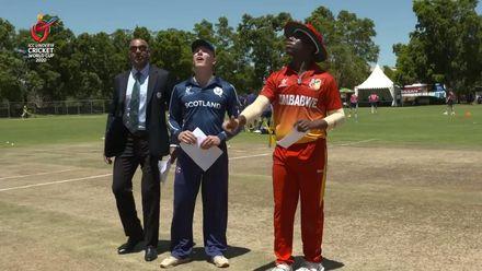 ICC U19 CWC: ZIM v SCO – Zimbabwe opt to field