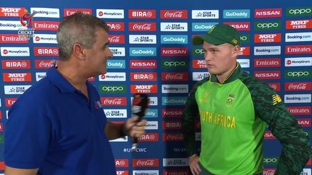 ICC U19 CWC: SA v UAE – Post-match presentation