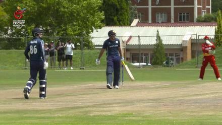 ICC U19 CWC: ZIM v SCO – Sajjad fights lone battle with 71-ball 68