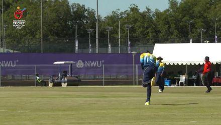 ICC U19 CWC: SL v NGR – Paranavithana takes a stunning catch