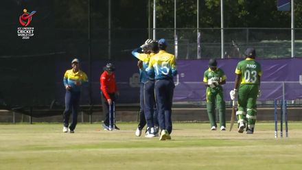 ICC U19 CWC: SL v NGR – Madushanka derails Nigeria's chase with a five-wicket haul