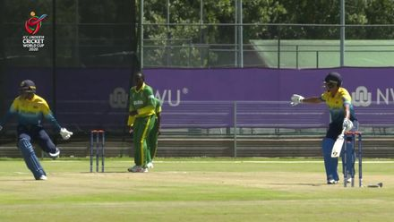 ICC U19 CWC: Runsewe direct hit sees Nigeria claim early Sri Lanka wicket