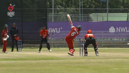 ICC U19 CWC: ZIM v CAN – Highlights of Emmanuel Bawa's 105*