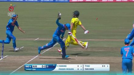 ICC U19 CWC: IND v AUS – Highlights of India's 74-run win