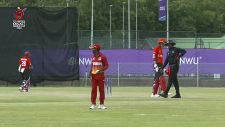 ICC U19 CWC: ZIM v CAN – Madhevere catches what Shumba misses