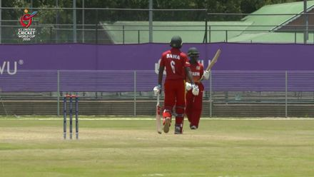ICC U19 CWC: ZIM v CAN – Tugwete reaches 50, and is dismissed soon after