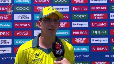 ICC U19 CWC: IND v AUS – 'Took a couple of important wickets, it was really good ' – Todd Murphy