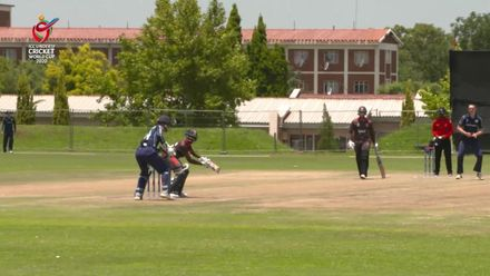 ICC U19 CWC: UAE v SCO – Danny Cairns takes two wickets in an over