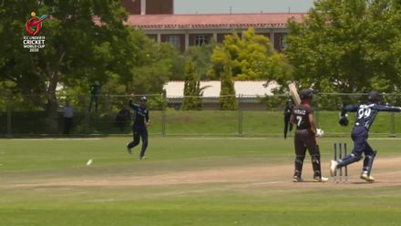 ICC U19 CWC: UAE v SCO – Danny Cairns takes two in an over for the second time in the game