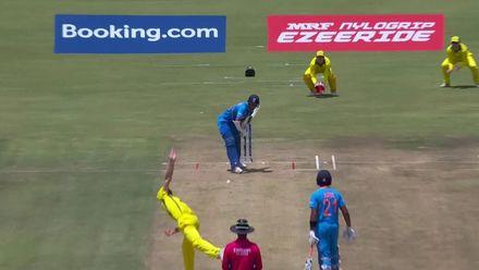 ICC U19 CWC: IND v AUS – Highlights of Yashasvi Jaiswal's 62