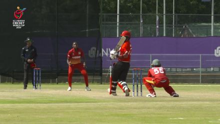ICC U19 CWC: ZIM v CAN – Chirawu dents Canada's chase with double strike