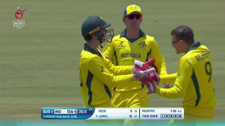 ICC U19 CWC: IND v AUS – Highlights of the India innings