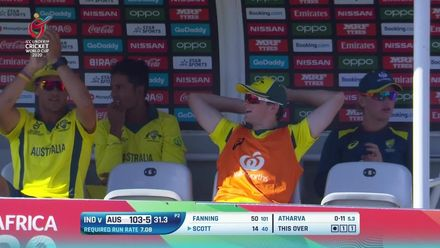 ICC U19 CWC: IND v AUS – Highlights of Australia's innings