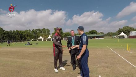 ICC U19 CWC: UAE v SCO – Scotland win the toss and opt to field first