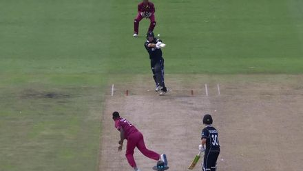 ICC U19 CWC: WI v NZ – Young snares the important wicket of Tashkoff