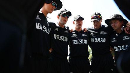 NZ team huddle