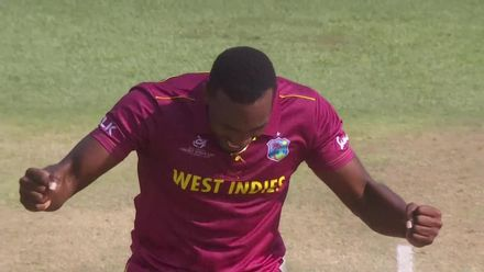 ICC U19 CWC: WI v NZ – Forde traps Sunde in front