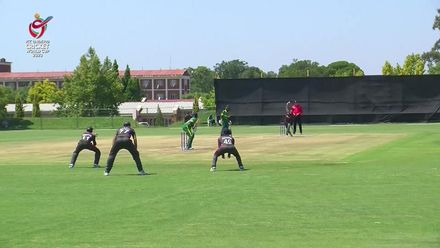 ICC U19 CWC: NGR v UAE –Aryan Lakra takes outstanding one-handed catch at slip