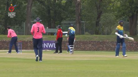 ICC U19 CWC: SL v SCO – Highlights of Sri Lanka's 97-run win (DLS)