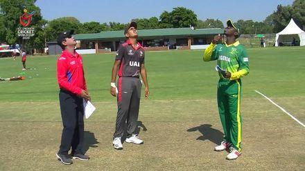 ICC U19 CWC: NGR v UAE – UAE decide to bowl first against Nigeria