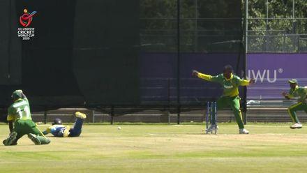 ICC U19 CWC: Runsewe direct hit sees Nigeria claim early Sri Lanka wicket