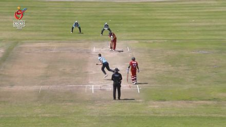 ICC U19 CWC: ENG v ZIM – Balderson sends Myers' off-stump flying