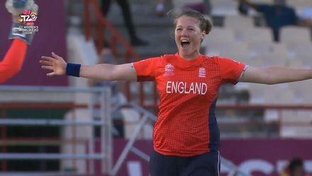 Women's T20WC Greatest Moments: Anya Shrubsole takes a hat-trick