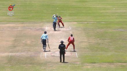 ICC U19 CWC: ENG v ZIM – George Balderson hammers 6, 6, 4