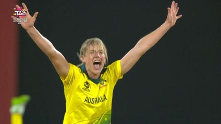 Women's T20WC Greatest Moments: Ellyse Perry's 100th T20I wicket