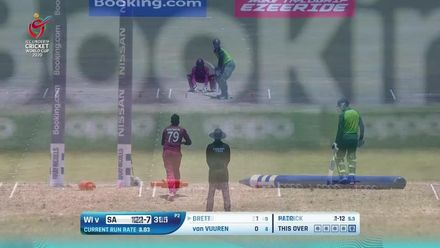 ICC U19 CWC: SA v WI – All the wickets to fall