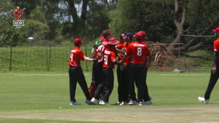 ICC U19 CWC: UAE v CAN – Benjamin Calitz takes brilliant one-handed catch