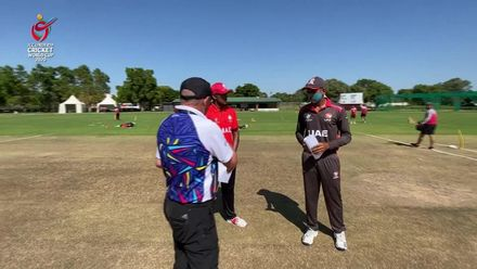 ICC U19 CWC: UAE v CAN –  Canada opt to bowl first